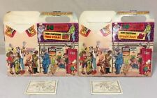 1983 Lot Action meal Hardees Kids Meal: FireStar and Spiderman Vintage Comic 3d