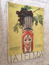 RIVISTA LA LETTURA N.11 11/1922 FIGLIO GOETHE UNIVERSITA CASATE OLONA FRANCIA