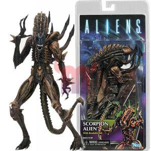 "NECA Scorpion Alien 7"" Action Figure w Bendable Tail Series 13 Aliens Movie New"