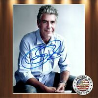 Anthony Bourdain Autographed Signed 8x10 Photo (Top Chef) REPRINT