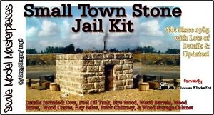 Scale Model Masterpieces/Yorke Small Stone Town Jail Kit O/1;48