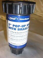 "Orbit 54017,2"" Half Spray Pattern Pop-Up Sprinkler Head w/Twin-Spray Nozzle"