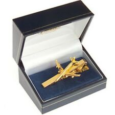 Airbus A380 Tiebar 22 Carat Gold Plate - A-380