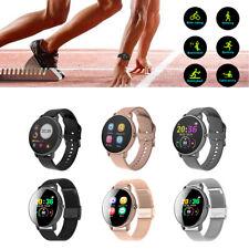 Men Women Smart Watch Sports Fitness Tracker Heart Rate Monitor Call Reminder