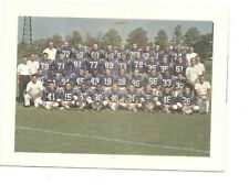 1964 Baltimore Colts team picture Christmas card