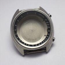 NEW OLD STOCK '1972 VINTAGE SEIKO 6139-7030 CHRONOGRAPH CASE SET NEW!! BLACK