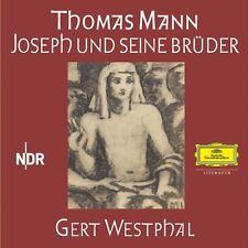 """THOMAS MANN """"JOSEPH UND SEINE BRÜDER"""" 30 CD NEU"""
