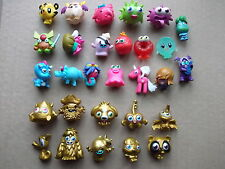 29 COLLECTABLE MOSHI MONSTERS FIGURES ALL DIFFERENT GOLDS,SPOOKIES,ZACK BINSPIN
