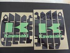 2009 2010 2011 KAWASAKI KXF 450 RADIATOR SHROUD LOUVER DECAL SET