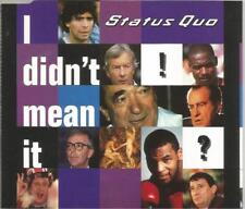 Status Quo - I Didn't Mean It 1994 CD single