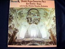HANDEL ORGAN CONCERTOS~VOL. 1~KARL RICHTER & CHAMBER ORCHESTRA~1975