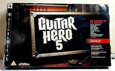 Guitar Hero 5 Playstation 3 full Guitar bundle WIRELESS CONTROLLER For PS3