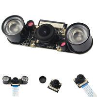 130Degree Night Vision Camera Modules Raspberry Pi 4B/3B+Adjustable Focal OV5647