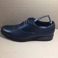 Mens Clarks Black Leather Active Air Lace Up Shoes UK Size 10H Extra Wide