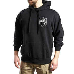 KHE BMX Hoodie Black 100% Cotton Size XXL