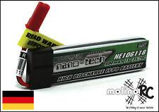 1x Turnigy nano-tech 600mah 1S 35~70C NEU Lipo Akku 3,7V Blade 120 SR MQX