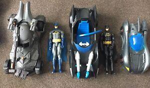 "12"" Batman Figure & Batmobile bundle DC COMICS"