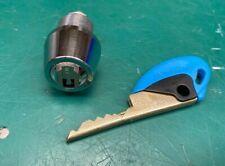 BiLock Cam Lock Cylinder W/ Operating Key QCC  - Locksmith Locksport