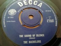 "THE BACHELORS * THE SOUND OF SILENCE * 7"" SINGLE VERY GOOD 1966"