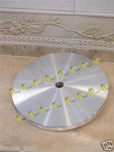 200mm 8 inch THK Aluminium master lap diamond flat laps aluminum base plate 8mm