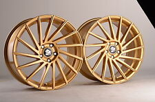 19 Zoll UA9 Felgen 5x108 für Volvo C70 S60 V60 S80 S90 V90 V40 XC60 XC70 Gold