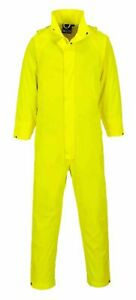 Portwest S452 Sealtex Classic Mens Rain Coverall Waterproof Overall Boilersuit