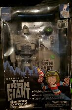 New listing The Iron Giant Remote Control Light Up Eyes Sound Trendmasters 1999 Warner Bros