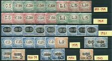 (TV01483) San Marino Lotto Stamps