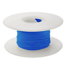 30 AWG Kynar Wire Wrap UL1423 Solid Wiremod type 100 foot spools BLUE NEW!