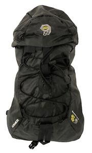 MOUNTAIN HARDWEAR Scrambler 25L Hiking Camping Backpack Bag All Black Cordura
