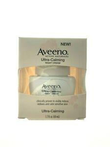 Aveeno Ultra Calming Nourishing Night Cream 1.7oz