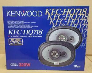 """Kenwood KFC-HQ718 3-Way 320 Watt 7x10"""" Car Speakers Brand New"""
