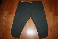 NWT Womens WOOLRICH Dark Slate Gray Hiking Cargo Capris Sz 10 $59