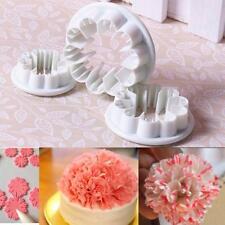Fondant Flower Cutter Sugar Craft Carnation  Mold  Cake  Decorating Mould