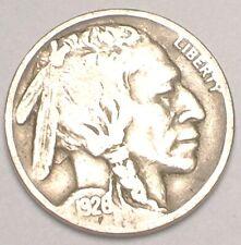 1926 Buffalo Indian Head Nickel 5 Cents Coin