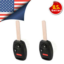 2 Replacement Remote Key Fob for Honda OUCG8D-380H-A with 46 Chips