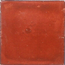90 Mexican Tiles Talavera Ceramic #S10 Washed Terracotta Color