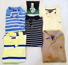 Lot of 5 Chaps Ralph Lauren Men's Polo Rugby Size M ..Minimal Wear.. nice