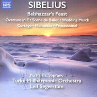 Leif Segerstam - Sibelius:Belshazzar'S Feast [Pia Pa... - Leif Segerstam CD 9UVG
