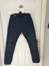 "Jack & Jones RRP £65 Jeans Slim Fit Tim 29"" Waist 30"" Leg Small Blue Denim Low"