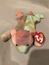 EXTREMELY RARE RETIRED 1998 TY BEANIE BABY SAMMY With Registry Number 2086484