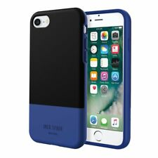 JACK Spade New York iPhone 7 CUSTODIA NERA blocco di colore Blu Rigida Kate Spade