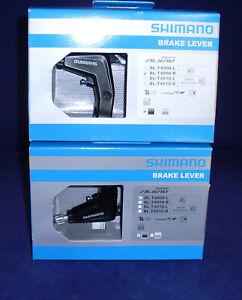 Shimano Alivio BL-T4000 2-Finger Cycle Brake Levers For V-Brakes Black - 1 Pair