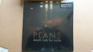 """DEATH CAB FOR CUTIE       """"PLANS""""        DOUBLE VINYL LP RECORDS"""