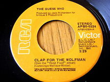 """Los Guess Who-Clap Para El Lobo Vinilo De 7"""""""