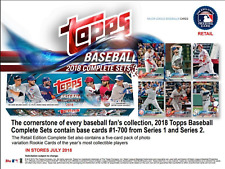 2018 Topps Baseball Retail Factory Set (705) Ohtani, Torres, Acuna, Soto Rookies