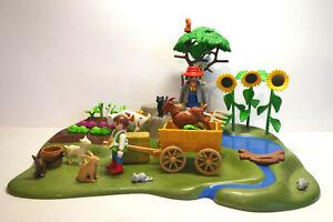 Playmobil Garten mit Tieren und Bollerwagen (#1)