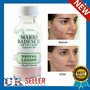 Mario Badescu Drying Lotion 29ml In Glass Bottle For Acne Prone Skin UK Stcok