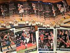 KARL-ANTHONY TOWNS RESALE LOT (120 TOTAL CARDS) (7 DIFFERENT) 2016-17 TO 2018-19