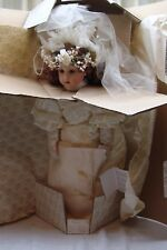 VICTORIAN HEIRLOOM BRIDE DOLL BY BEBE STEINER FOR THE FRANKLIN MINT ***NIB ***